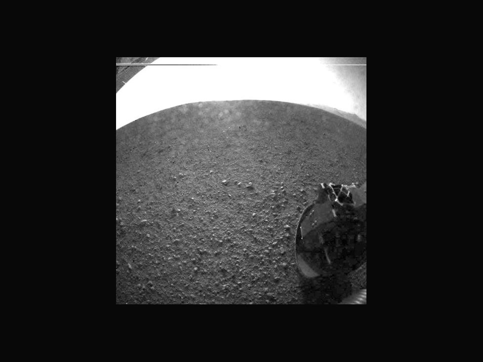 Image from the Mars Rover Curiosity