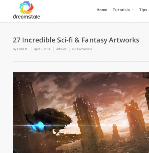 27 Incredible Sci-fi & Fantasy Artworks - Dreamstale